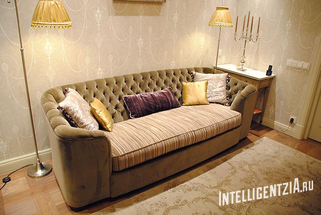 перетяжка классической мебели