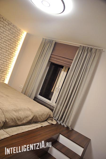 покрывало на кровать и шторы
