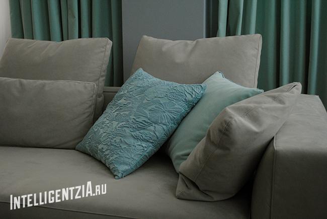 пошив интерьерных подушек