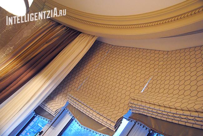 пошив римских штор