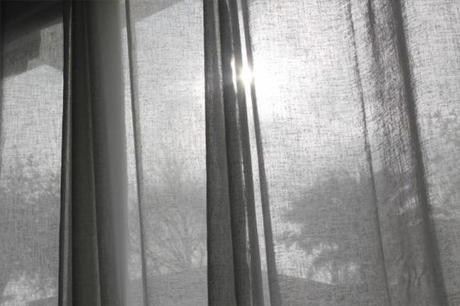 рогожка на окне