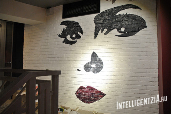 Трафарет для декора стен