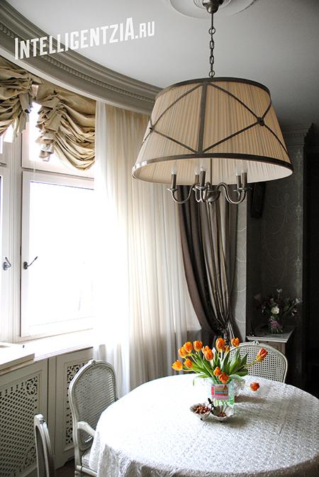 шторы во французском стиле