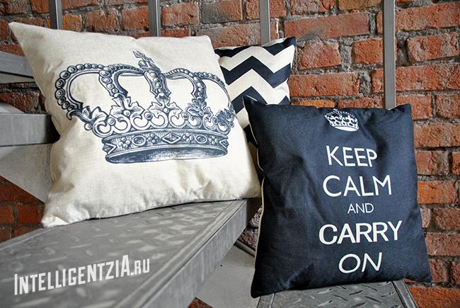 стильные подушки
