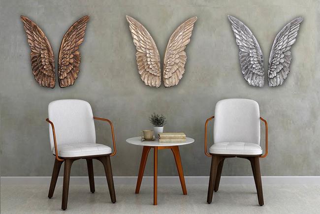 декоративное панно на стену крылья
